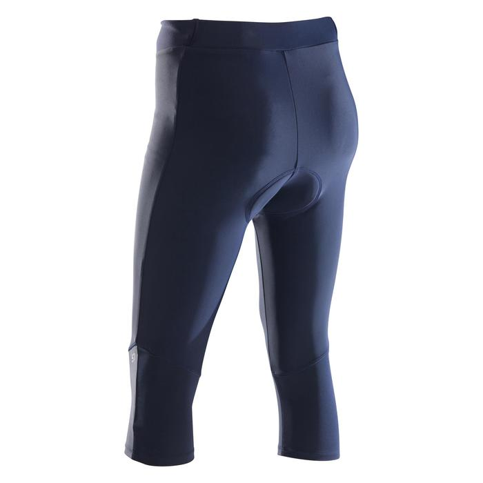 MTB-Tights 3/4 ST 500 Damen marineblau