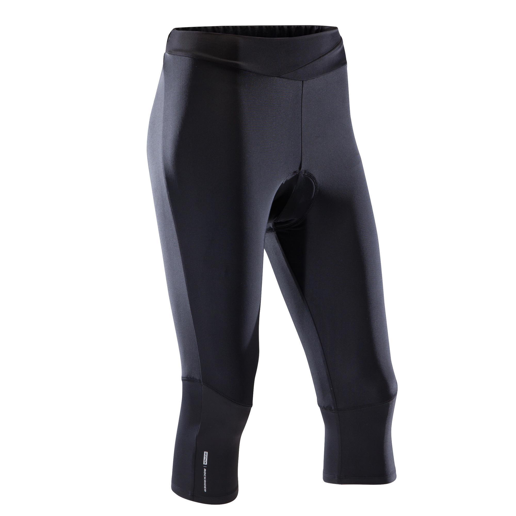 Rockrider MTB-broek ST 500 dames zwart kopen