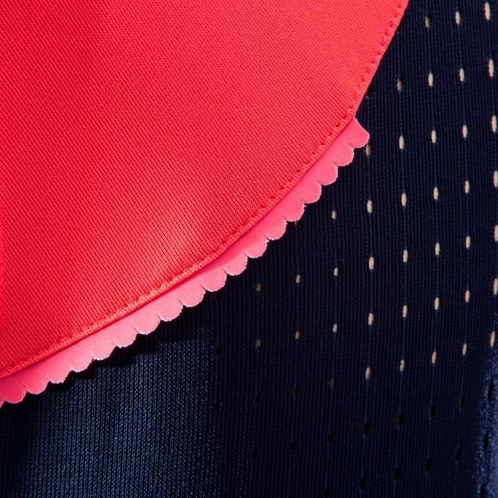 Maillot sin mangas MTB ST 500 Mujer Azul Rosa