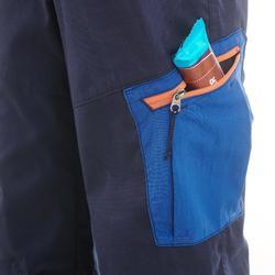 Pantalon de randonnée enfant MH100 bleu marine 7-15 ans