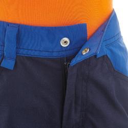 Pantalon de randonnée - MH100 bleu marine - enfant