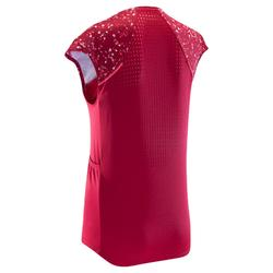 Mouwloos MTB-shirt voor dames ST 500 roze