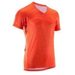 MTB-shirt met korte mouwen ST 100 heren oranje