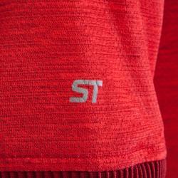 MTB-shirt met korte mouwen ST100 rood