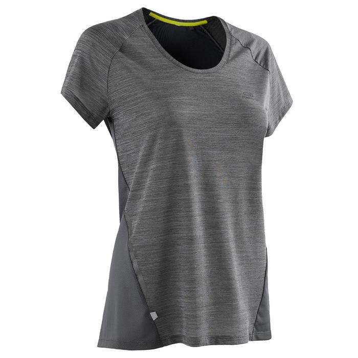 Laufshirt kurzarm Run Light Damen grau