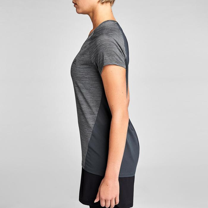 T-SHIRT JOGGING FEMME RUN LIGHT GRIS