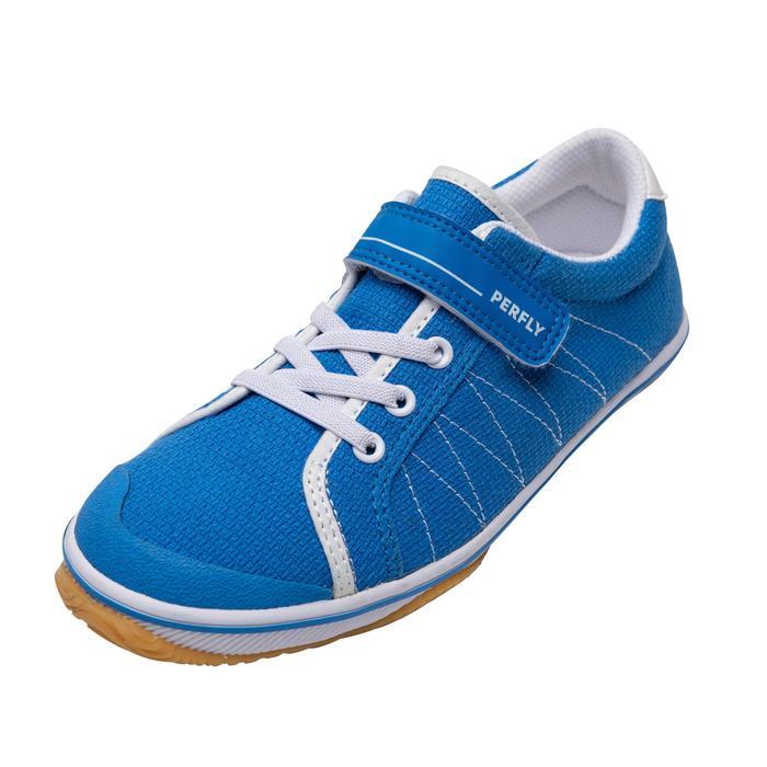 兒童款羽球鞋BS 100-藍色