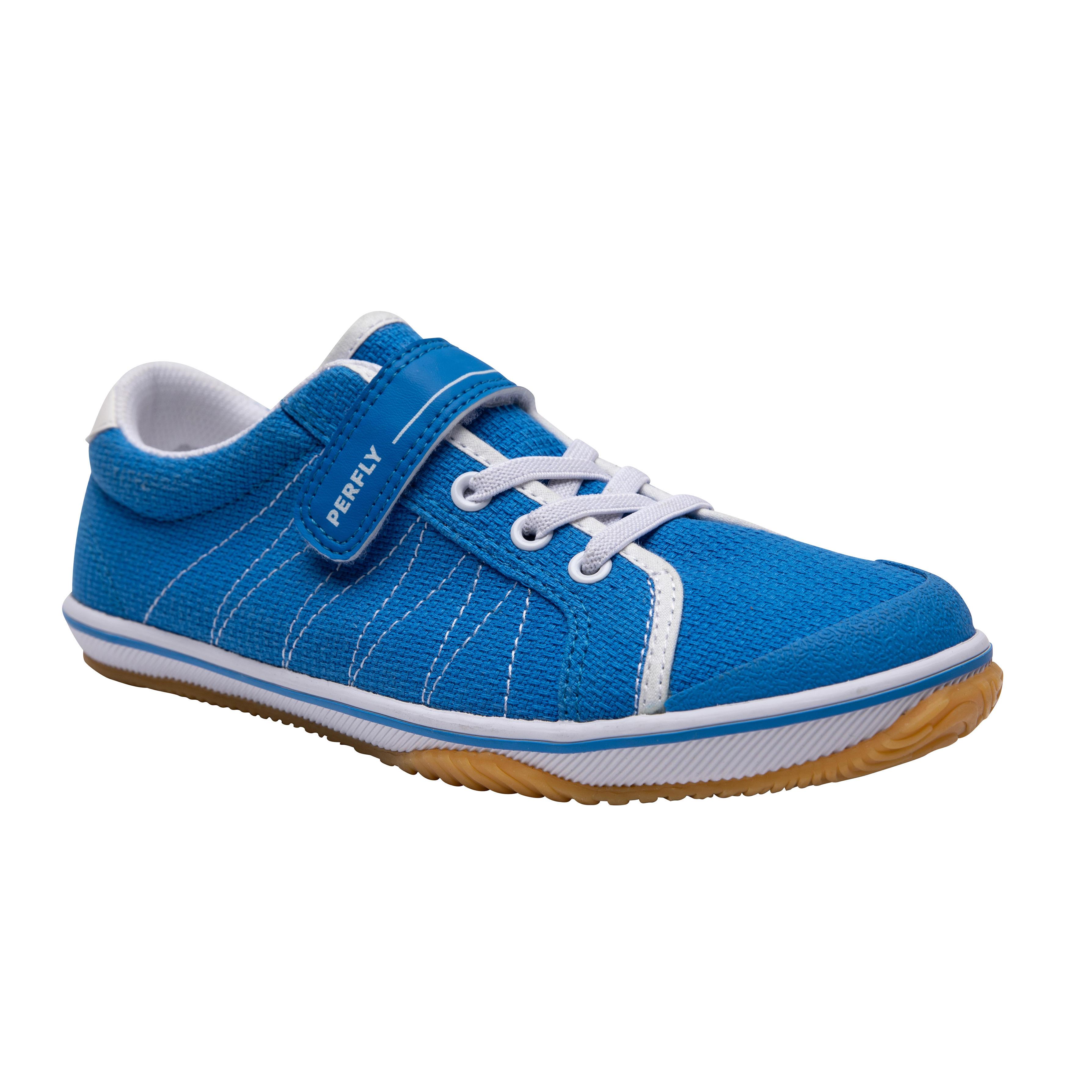 Perfly Badmintonschoenen voor kinderen BS 100 blauw