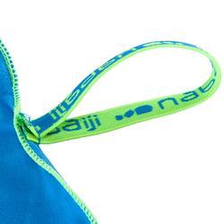 Toalla Baño Piscina Natación Nabaiji Azul Microfibra Compacta Talla M
