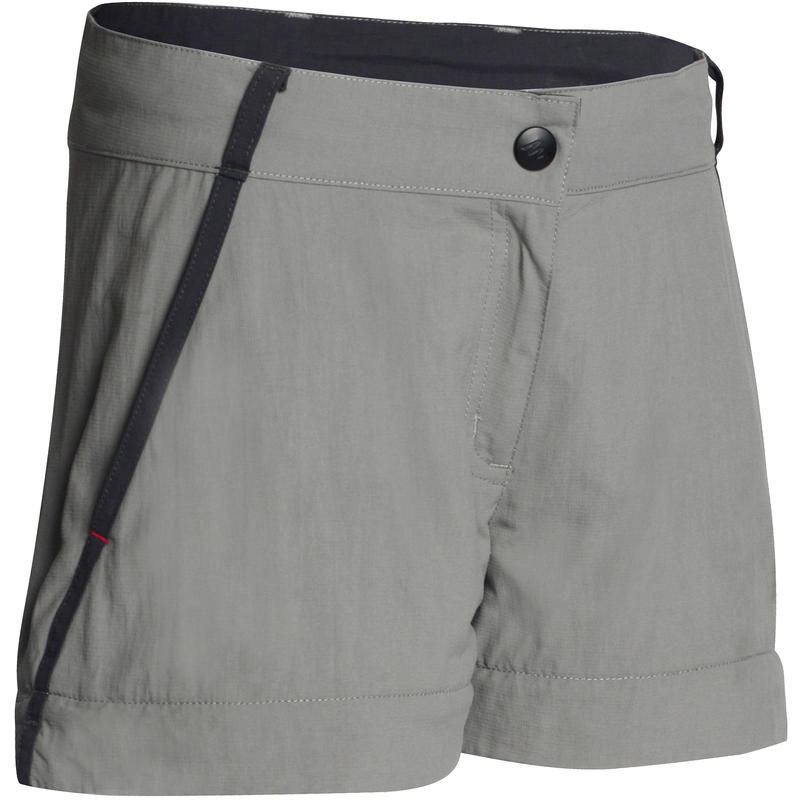 Kid's Hiking Trousers MH550 (Modular) - Grey