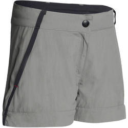 Pantalón transformable de senderismo júnior MH550 gris