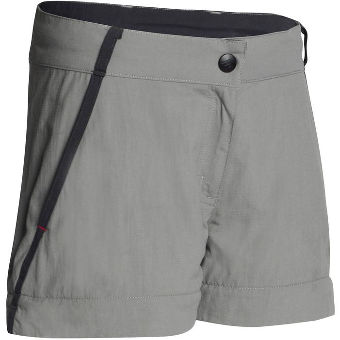 Pantalón de senderismo transformable júnior Hike 900 gris