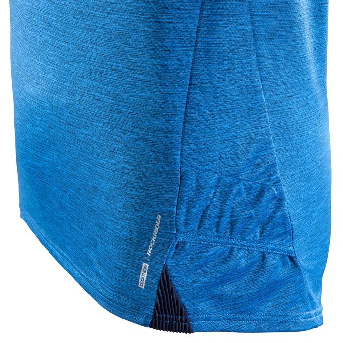 Kurzarm-Radtrikot ST 100 MTB Herren blau
