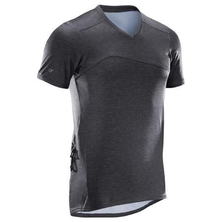 ST 100 Short-Sleeved Mountain Biking Jersey - Black