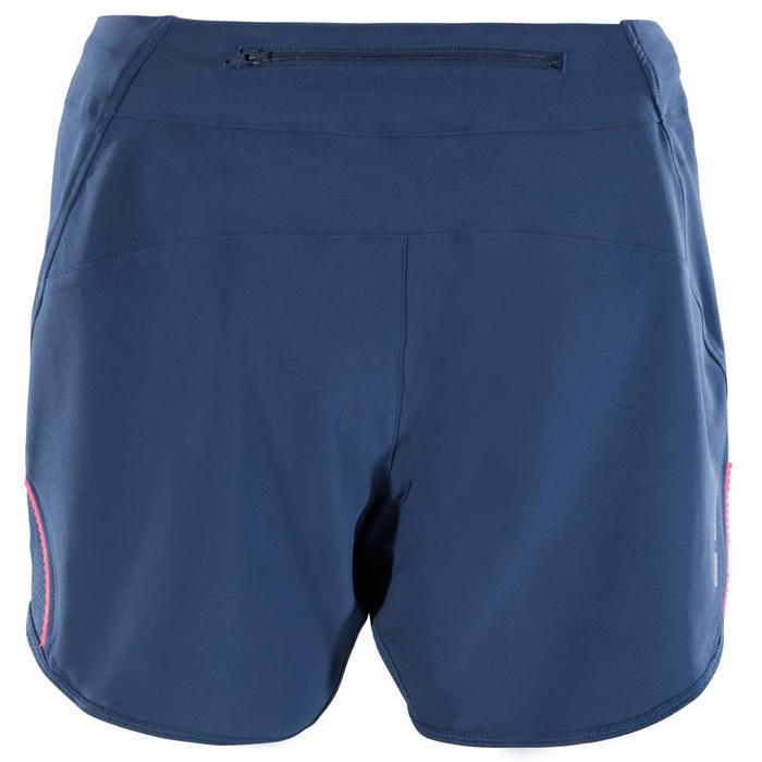 Kurze Radhose MTB-Short ST 500 Damen blau