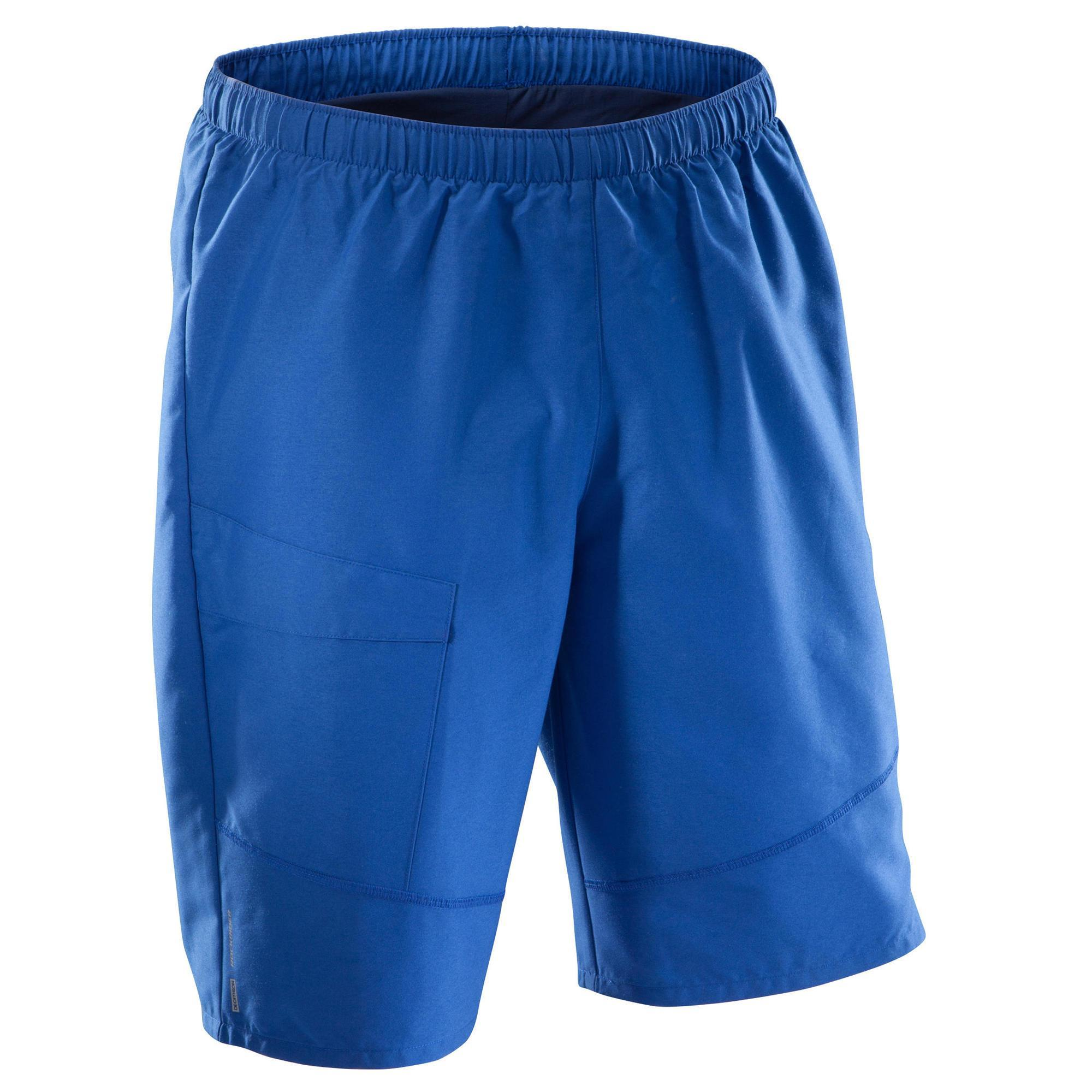 Image of Mountainbike-Shorts MTB Herren blau Damen L