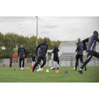 Lote de 6 conos Kipsta para entrenamiento fútbol Essential 15 cm amarillo