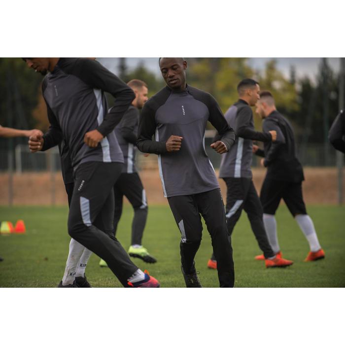 Pantalon de football adulte T500 noir