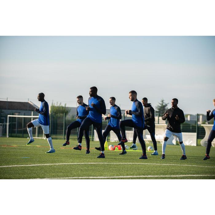 Voetbalbroek voor volwassenen T500 marineblauw
