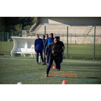 Chaqueta Impermeable Fútbol Kipsta FJK100 Adulto Negro