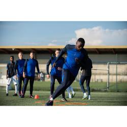Voetbal trainingsbroek T500 marineblauw