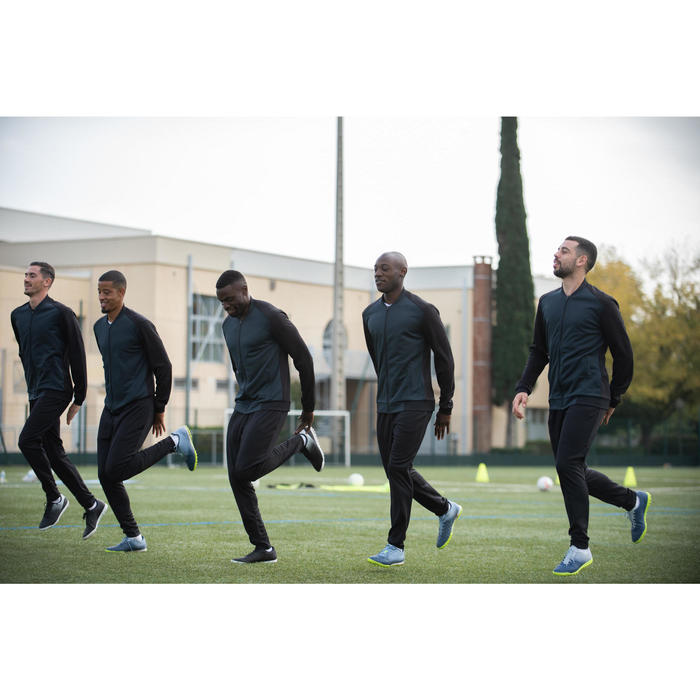 Voetbalbroek voor volwassenen T100 zwart