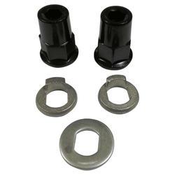 Moeren en rondellen achterwiel E-ST