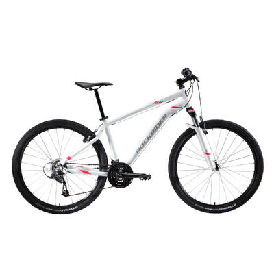 ST 100 Women's 27.5_QUOTE_ Mountain Bike - White/Pink