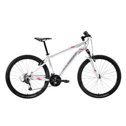 "Mountainbike dames ST 100 27.5"" 3x7 speed microshift/shimano wit/roze"
