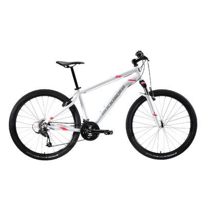 Women's 27.5_QUOTE_ Mountain Bike ST 100 - White/Pink