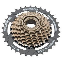 Opschroefbaar freewheel Shimano tourney 7 versnellingen 14x34