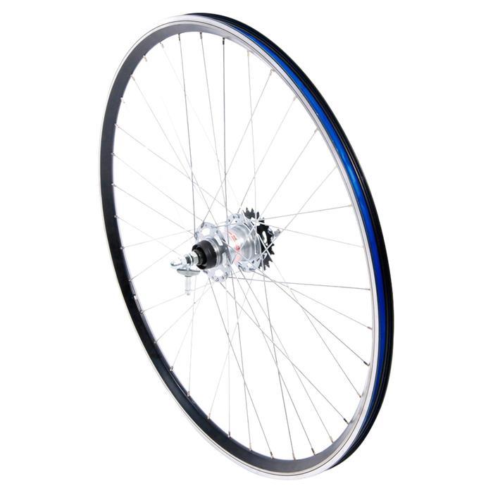 """roue ville 28"""" arrière nexus 3 noir"""