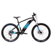 Črno in modro gorsko kolo E-ST 500