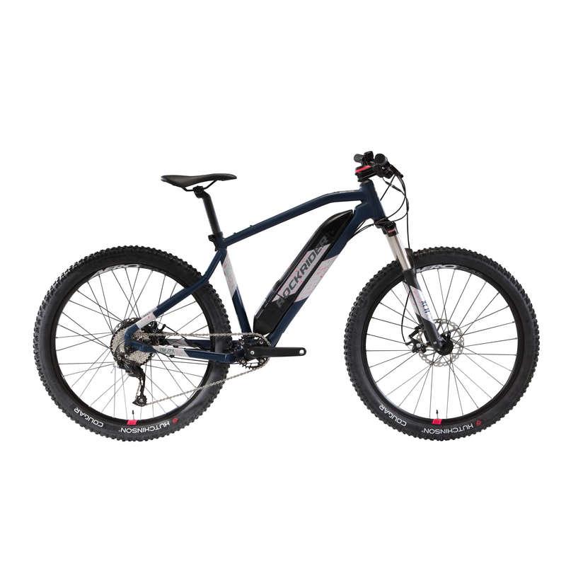 BICICLETĂ ELECTRICĂ MTB DRUMEȚIE FEMEIE Ciclism - Bicicletă MTB ST 500  ROCKRIDER - Biciclete mountain bike