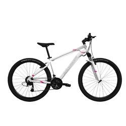 """Mountainbike Rockrider 100 Damen 27,5"""" weiß"""