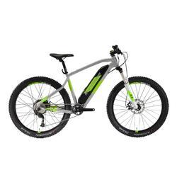 Bicicleta Eléctrica de Montaña e-ST 500 gris y amarilla