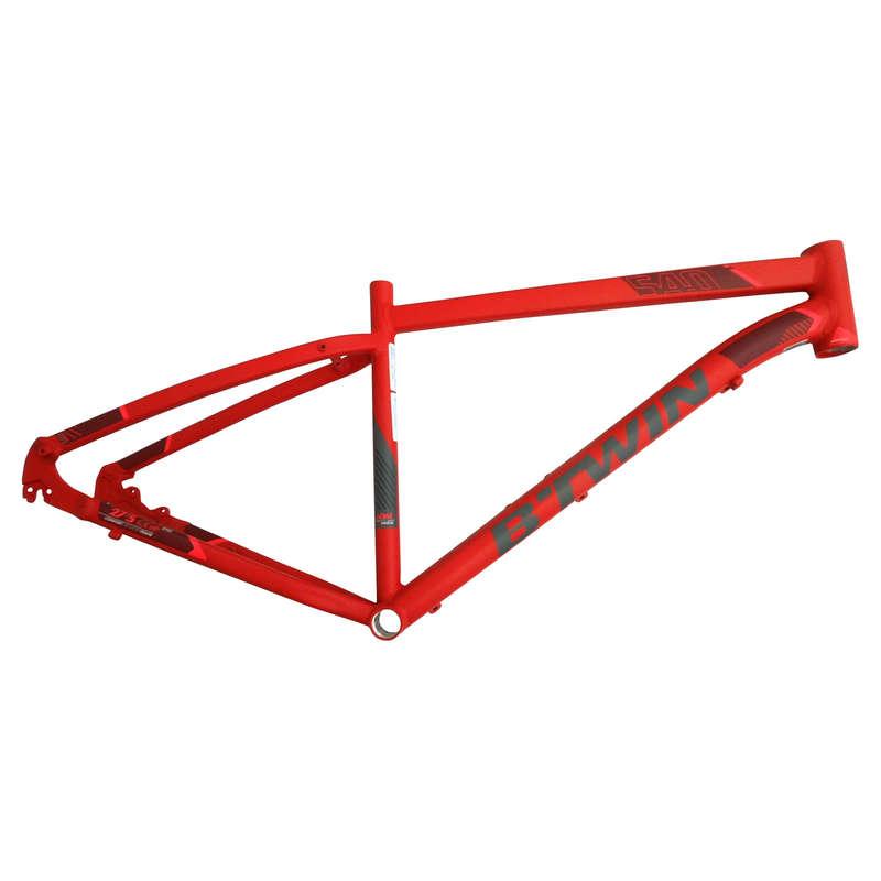 FRAME MTB Cycling - RR 540 Frame - Red ROCKRIDER - Bike Parts