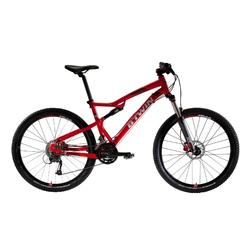 "MTB ROCKRIDER 540 S 27.5"" Shimano Altus 3x9-speed full suspension mountainbike"