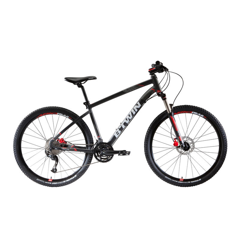 "Rockrider 540 27.5"" Mountain Bike - Grey"