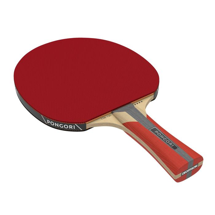 Tafeltennisbatje TTR 130 4* Spin ITTF met hoes