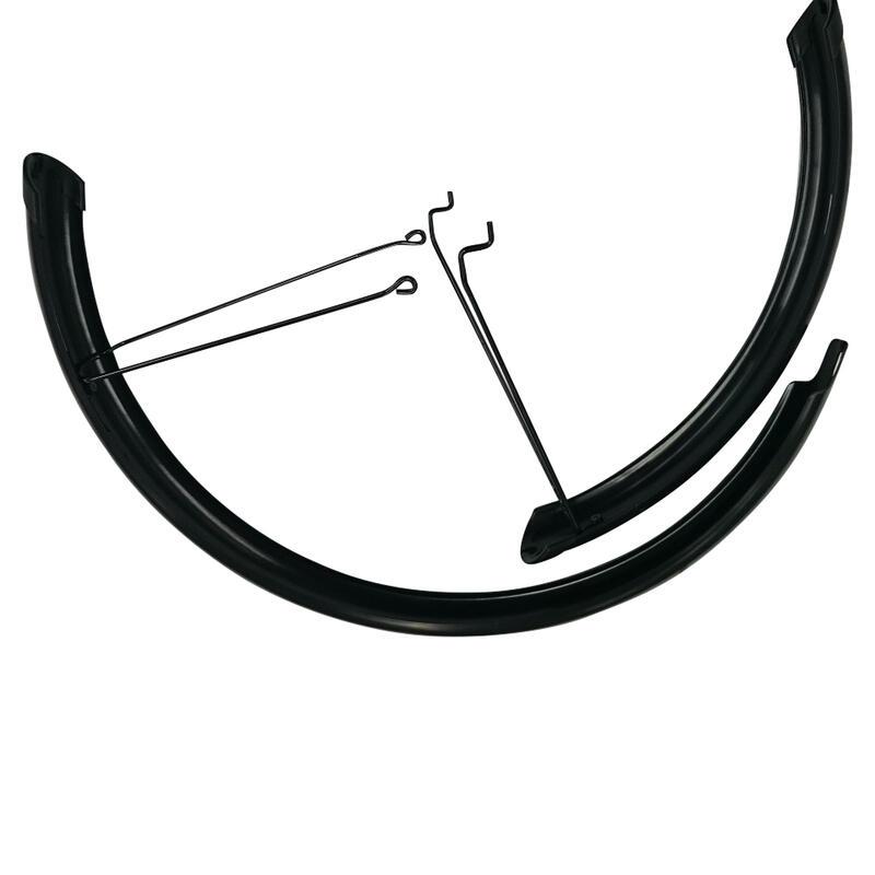 Garde boue vélo 20 pouces RACINGBOY 540 noir (par paire, vendu sans kit de vis)