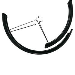 """Guarda-Lamas Bicicleta 20"""" RACINGBOY 540 Preto x2 (sem conjunto de parafusos)"""