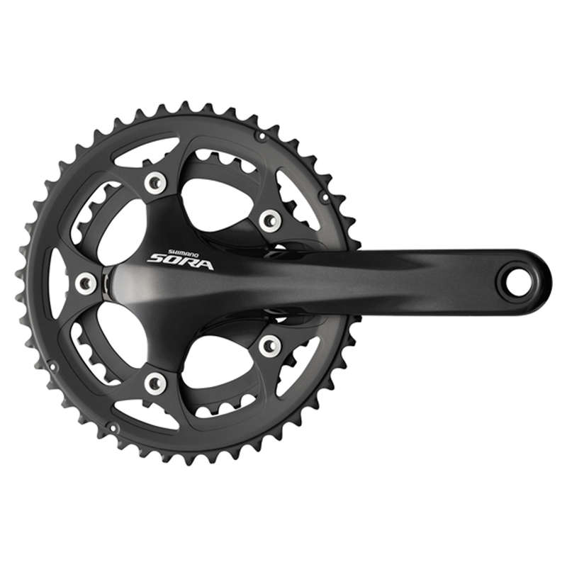GEARING ROAD Cycling - Sora R3000 50/34 Chainset  WORKSHOP - Cycling