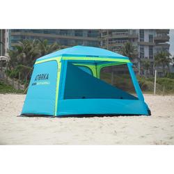 Tente de beach handball HGA500 bleu / jaune