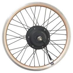 Hinterrad für Klapprad-E-Bike 20 Zoll Doppelwandfelge 24 V Hoptown 500E gold