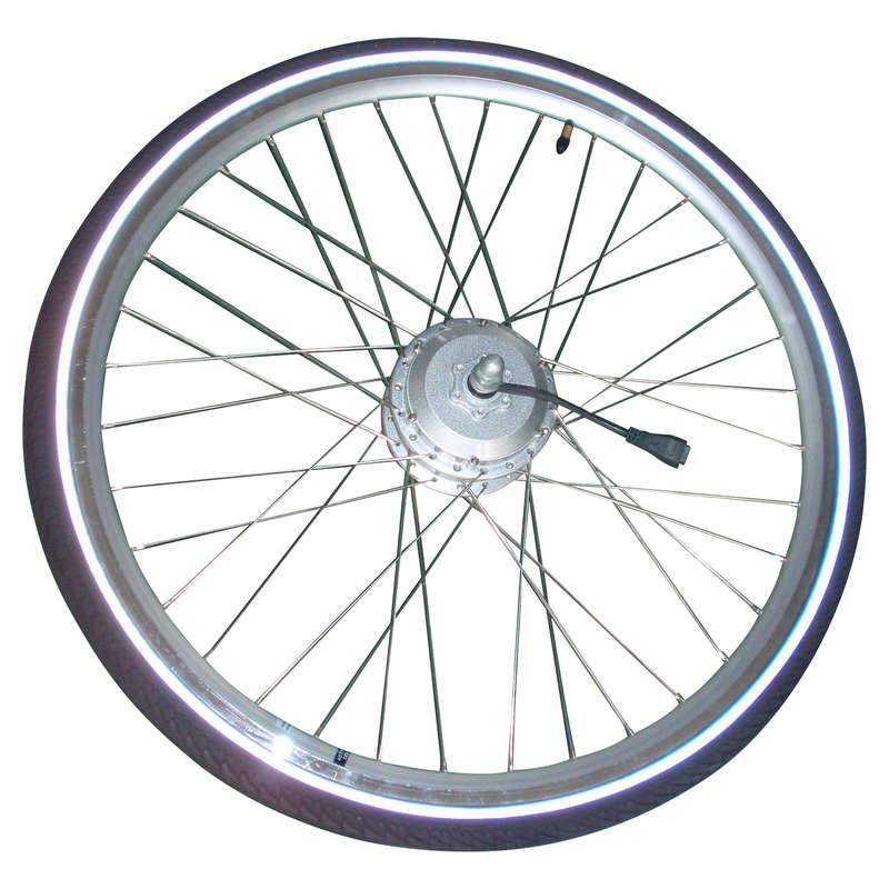 RUOTE BICI CITTA' Ciclismo, Bici - Ruota posteriore b700 36v BTWIN - PEZZI DI RICAMBIO BICI CITTA'
