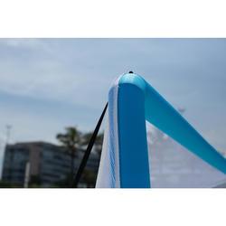 Portería Inflable de Balonmano Playa Atorka HIG500 Azul Amarillo