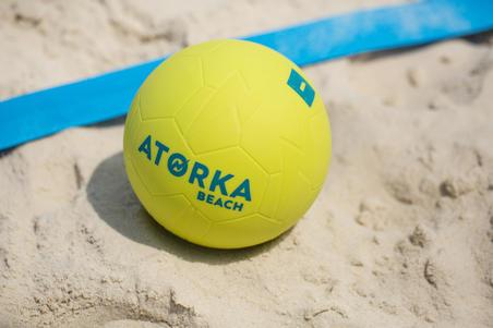 HB500B Size 1 Beach Handball - Yellow