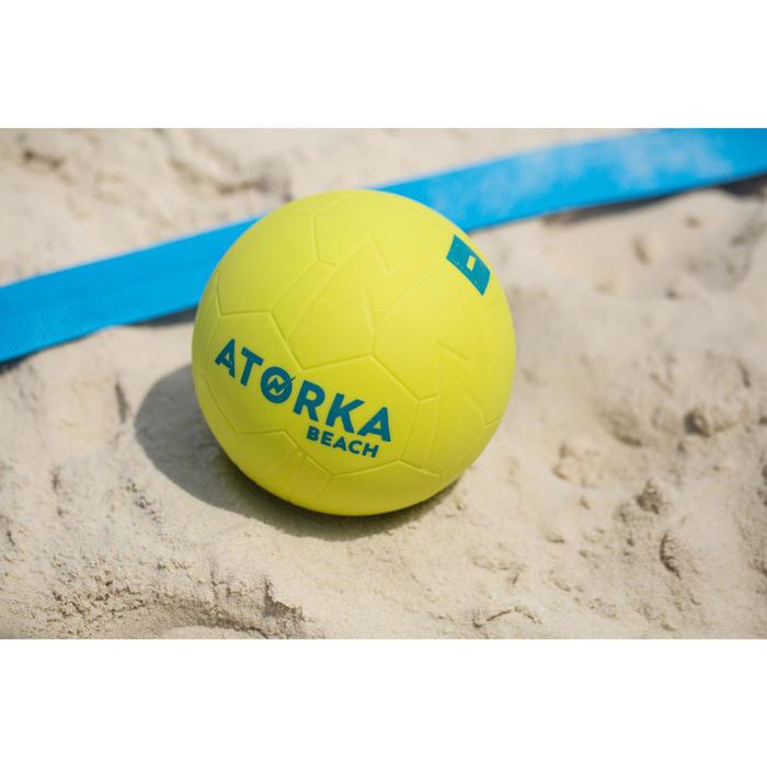 Ballon de beach handball HB500B taille 1 jaune