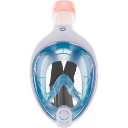 Masque de snorkeling en surface Easybreath bleu navy